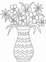 Coloring Bouquet Flower Vase Pot Pages Drawing Flowers Line Drawings Printable Pots Popular Empty Getcoloringpages Getdrawings Paintingvalley Cooloring Club Coloringhome sketch template