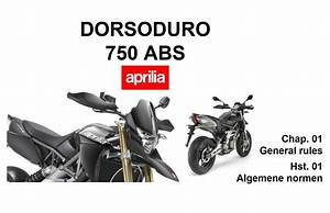 Aprilia Dorsoduro 750 Abs 2008 Owner U2019s Manual