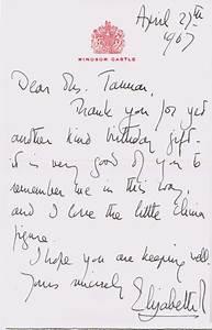 Queen Elizabeth II Autograph Letter Signed