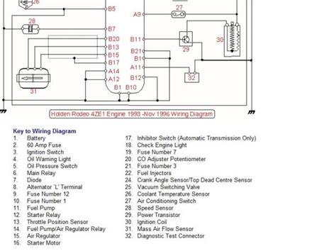 Isuzu Rodeo Stereo Wiring Diagram by Vs Commodore Wiring Diagram Pdf