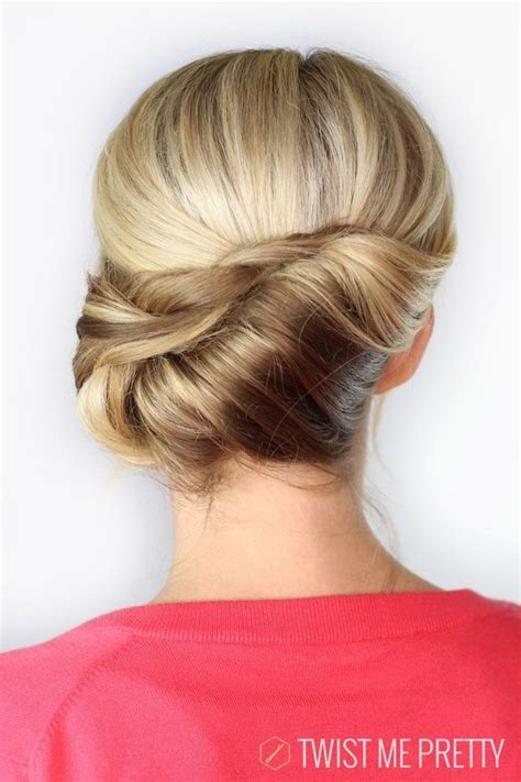 pretty french twist updo hairstyles updo summer
