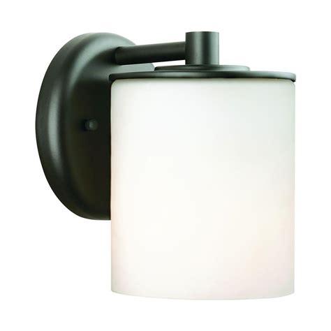 philips midnight 1 light black outdoor wall lantern