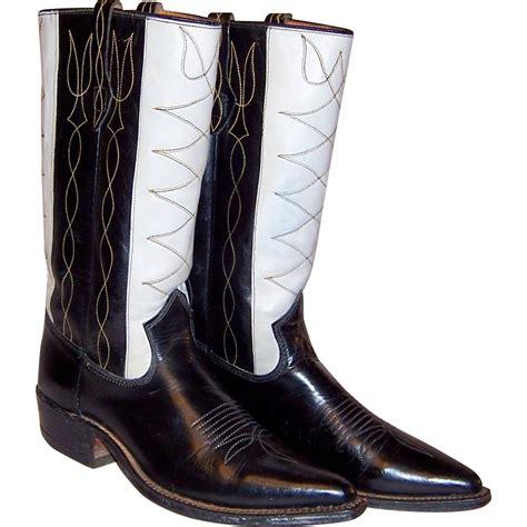 cowboy boots walker johnnie 1940 rubylane
