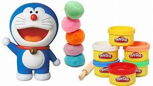 Play Doh Making Of Doraemon Cartoon
