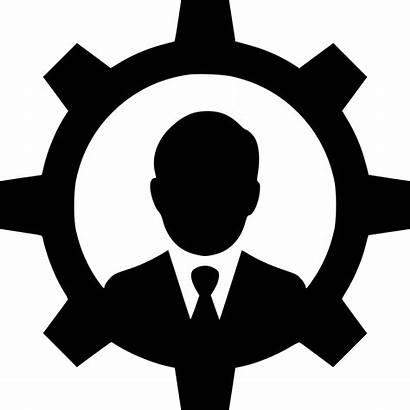 Icon Gear Control User Person Configure Svg