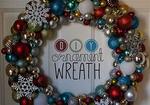 How to Make a Christmas Wreath out of Ornaments Wreaths