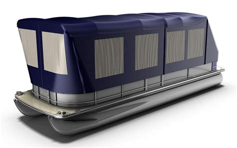 Bennington Pontoon Boat Cer Enclosure by Turn Your Pontoon Into A Cing Tent Rocky Mountain Rv