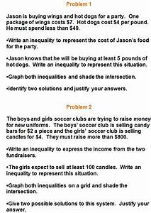 Inequality Word Problems