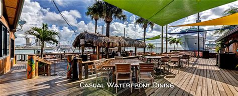 grills seafood deck tiki bar cape canaveral cocoa beach