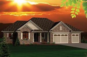 Ranch, Style, House, Plan, -, 2, Beds, 2, Baths, 1645, Sq, Ft, Plan, 70-1046