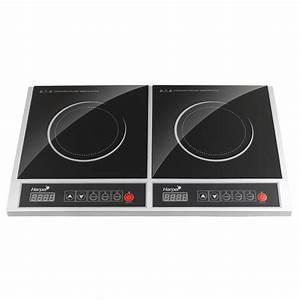 Four Plaque Induction : harper double plaque induction ti40 achat vente plaque ~ Melissatoandfro.com Idées de Décoration