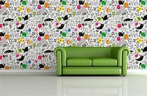 Ausgefallene Tapeten Muster : ausgefallene tapeten designs f r ihre schicke wanddekoration ~ Sanjose-hotels-ca.com Haus und Dekorationen