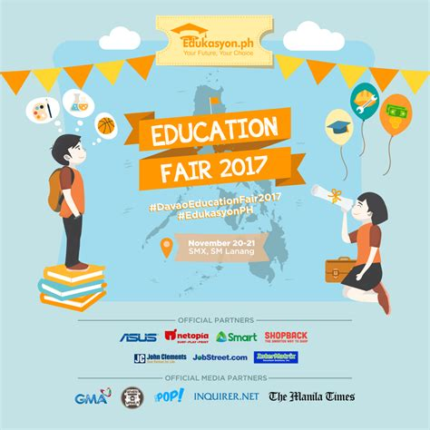 education fair  prepare  davao students  asean