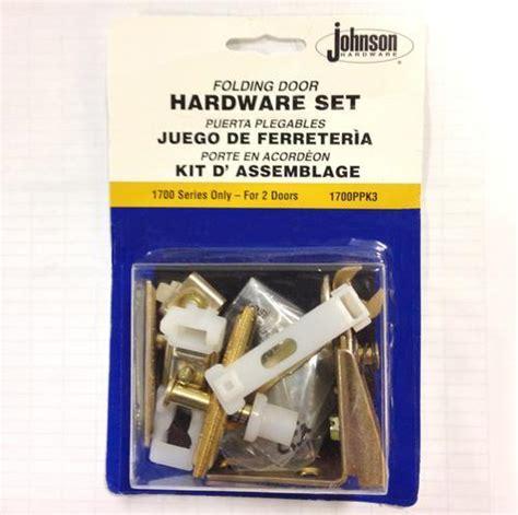 johnson hardware  panel bi fold door hardware kit