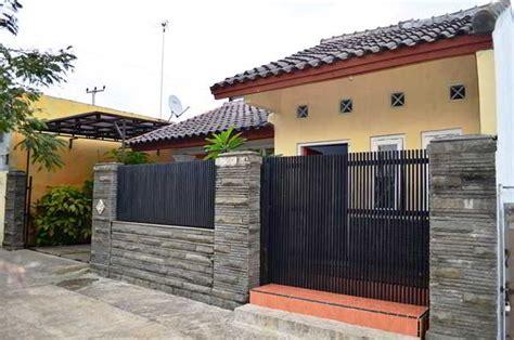 model gambar desain pagar rumah minimalis besi