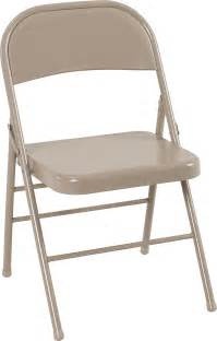 Cosco Wood Folding Chairs With Microsuede Seat by Cosco Products Cosco All Steel Folding Chair Antique Linen