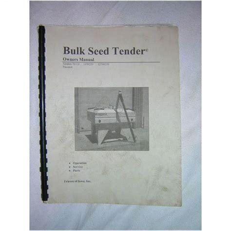 e bid friesen bulk seed tender model 7s110 107r220 1275r330