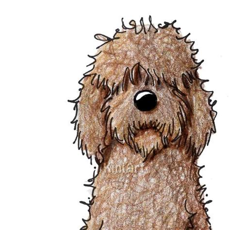 labradoodle clipart clipground