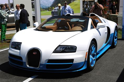With its 1200 hp and a top speed of 408 km/h, the grand sport vitesse is the fastest and most powerful production roadster in the world. Special Edition Bugatti Veyron 16.4 Grand Sport Vitesse sells for $2.5 million - Autoblog