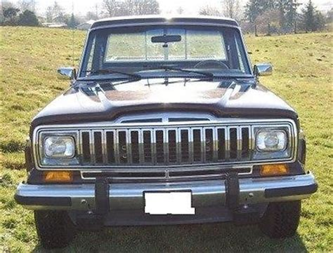 amc jeep amc jeep j20 pickup truck 4x4 3 4 ton used jeep other