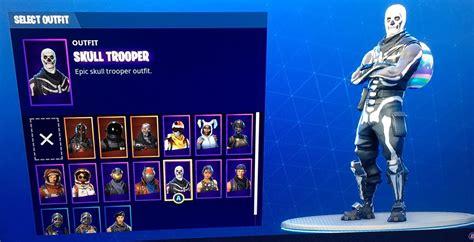 xbox  fortnite account  skull trooper