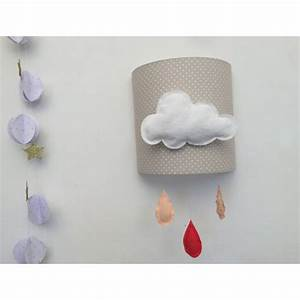 Applique Murale Nuage : applique murale nuage ~ Teatrodelosmanantiales.com Idées de Décoration