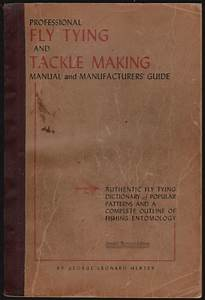 Pdf  Professional Fly Tying And Tackle Making Special