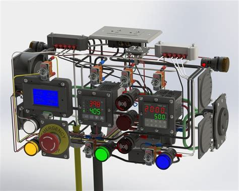 pid temperature control wiring  powder coating oven