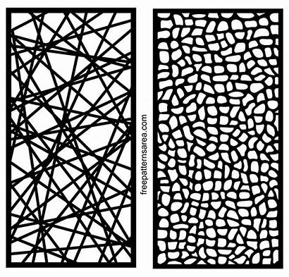 Patterns Laser Cut Metal Screen Abstract Templates