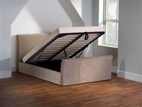 Ottoman Sleigh Bed by Emporia Sovereign 5ft Kingsize Fabric Ottoman Sleigh