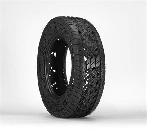 Pneu Hand-carved Car Tyres By Wim Delvoye » Retail Design Blog