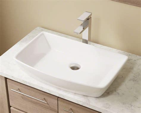 V-white Porcelain Vessel Sink