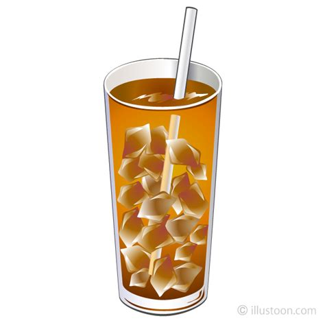 library  iced tea png black  white png files clipart art