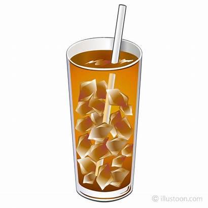 Tea Clipart Iced Ice Illustoon