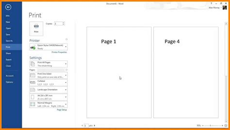 Booklet Template 8 Microsoft Word Booklet Template Edu Techation