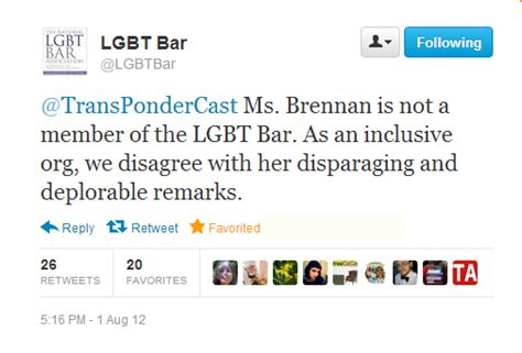 Terf Supports Anti-gay Activist Group