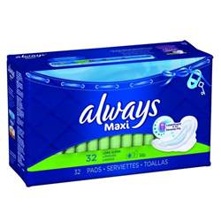 strauss heart drops buy always always maxi pads 32 from value valet