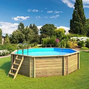 Piscine Hors Sol : piscine hors sol bois tropic proswell ~ Melissatoandfro.com Idées de Décoration