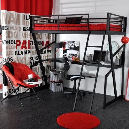 lit mezzanine bureau ado lit ado lit et mobilier chambre ado lit pour adolescent