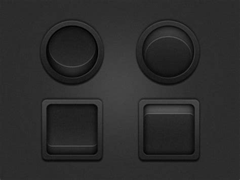 stylish web button icons  psd downloads