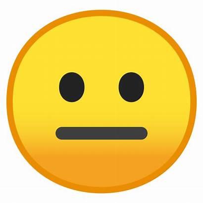Emoji Neutral Face Emojis Icon Google Android
