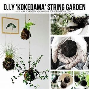 Kokedama Selber Machen : kokedama diy pinterest string garden garden and plants ~ Orissabook.com Haus und Dekorationen