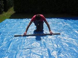 Preparation Terrain Pour Piscine Hors Sol Tubulaire : montage d 39 une piscine intex easy set autoport e ~ Premium-room.com Idées de Décoration