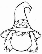 Witch Coloring Printable sketch template