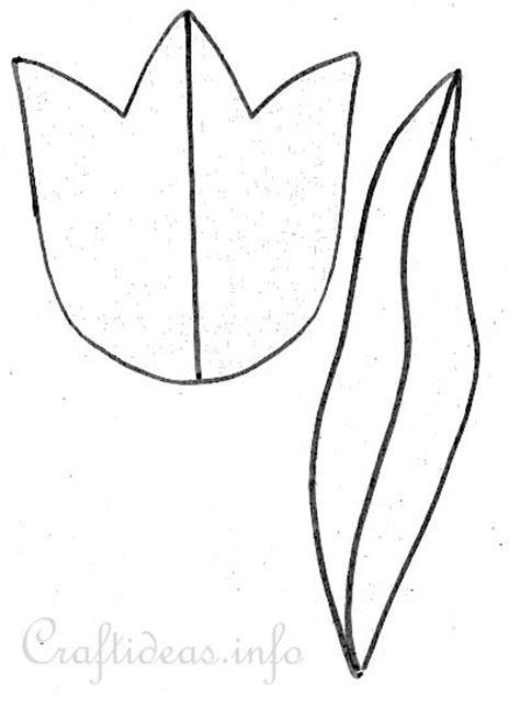 tulip template tulip bouquet