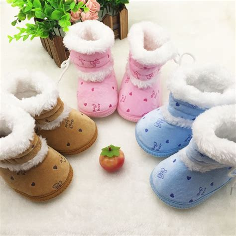 prewalker baby polka new 2017 winter warm walkers baby ankle snow boots