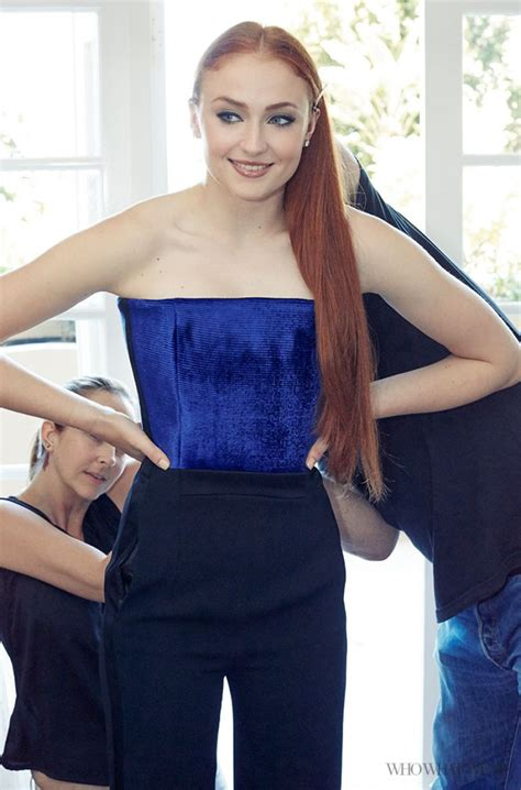 Sophie Turner - WhoWhatWear : Getting Emmys Ready With ...