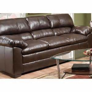 simmons 174 harbortown faux leather sofa big lots shoplocal