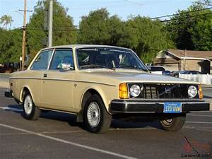 1 Owner 78 Volvo 242 Dl 240 Coupe Classic Brick Youngtimer