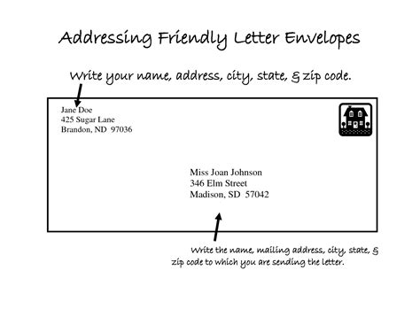 letter envelope format letter format envelope apartment formal letter template 58158